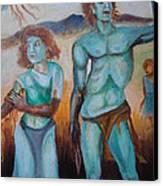 Princes And Zeus Canvas Print