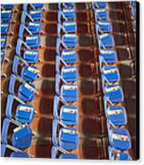 Programs On Rows Of Seating Canvas Print by Marlene Ford
