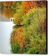 Prosser Autumn Docks Canvas Print by Carol Groenen