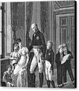 Prussian Royal Family, 1807 Canvas Print by Granger