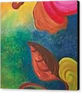 Psychadelic Dream Canvas Print by Derya  Aktas