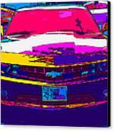 Psychedelic Camaro Canvas Print by Samuel Sheats