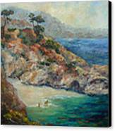 Pt Lobos View Canvas Print by Carolyn Jarvis