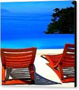 Puerto Vallarta Pool Canvas Print
