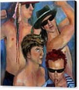 Pumped Up Canvas Print by Susan Hanlon