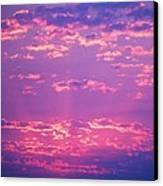 Purple Sky  Canvas Print by Kevin Bone