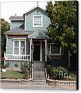 Quaint House Architecture - Benicia California - 5d18594 Canvas Print by Wingsdomain Art and Photography