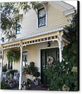 Quaint House Architecture - Benicia California - 5d18794 Canvas Print by Wingsdomain Art and Photography