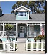 Quaint House Architecture - Benicia California - 5d18817 Canvas Print