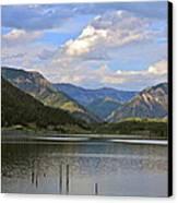 Quake Lake Canvas Print