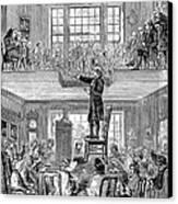 Quaker Meeting House Canvas Print