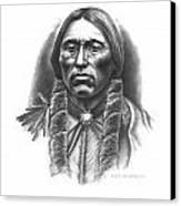 Quannah Parker Canvas Print by Lee Updike