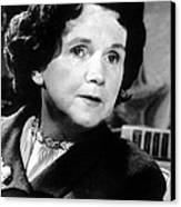 Rachel Carson, Circa 1962 Canvas Print by Everett
