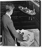 Radio-controlled Model Tug, 1955 Canvas Print