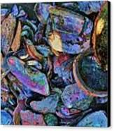 Rainbow Beach Canvas Print by Helen Carson