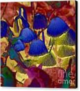 Rainbow Mushrooms Canvas Print