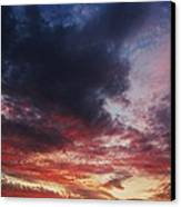 Rainbow Sky Canvas Print by Todd Sherlock