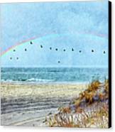 Rainbows And Wings II Canvas Print
