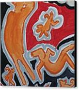 Raining Canvas Print by Jay Manne-Crusoe