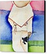 Raul Canvas Print by Regina Ammerman