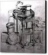 Ready For Supper Canvas Print by Carolyn Ardolino