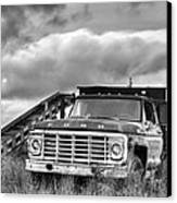 Ready For The Harvest Bw Canvas Print