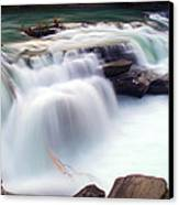 Rearguard Falls Canvas Print by Terry Elniski