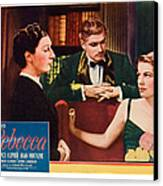 Rebecca, From Left Judith Anderson Canvas Print