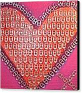 Recycled Love Canvas Print by James Briones