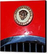 Red 1952 Jaguar Xk120 . 7d15952 Canvas Print