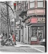 Red Burrito Canvas Print by Paul W Sharpe Aka Wizard of Wonders