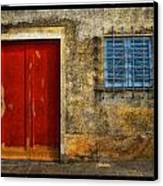 Red Doors Canvas Print by Mauro Celotti