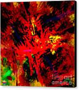 Red Planet Canvas Print by Vidka Art