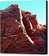 Red Rock Canyon 5 Canvas Print by Randall Weidner
