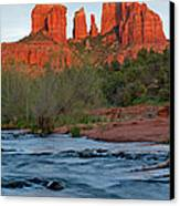 Red Rock Sunset Canvas Print