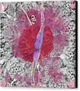 Red Tutu Canvas Print