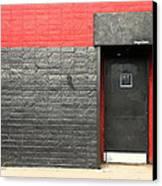 Red Wall Canvas Print by Viktor Savchenko