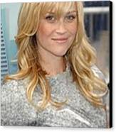 Reese Witherspoon Wearing A Rodarte Canvas Print by Everett