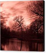 Reflected Canvas Print by Rossi Love