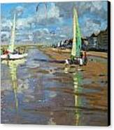 Reflection Canvas Print by Andrew Macara