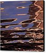 Reflection Patterns In The Waves Canvas Print