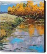 Reflections Canvas Print by Graham Gercken