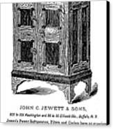 Refrigerator, 1876 Canvas Print by Granger