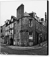 Regent Quay And Marischal Street Aberdeen Scotland Uk Canvas Print by Joe Fox