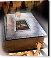 Religion Canvas Print by E  Kraizberg