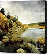 Rembrandt Colors Canvas Print by Arne Hansen