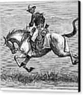 Remington: 10th Cavalry Canvas Print
