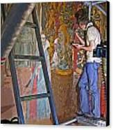 Restoring Art Canvas Print