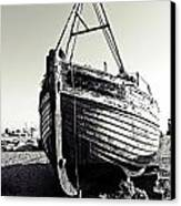 Retired Fishing Boat Canvas Print