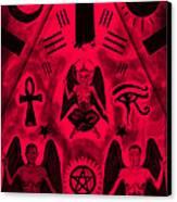 Revelation 666 Canvas Print by Kenal Louis